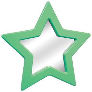 Star Mirror - Green Item # LS-WM STAR G