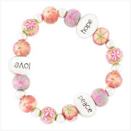 Love Floral Bracelet Item # 39100