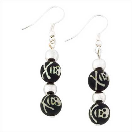 Jolly Roger Earrings Item # 39104
