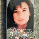 CHOICES (1990 DRAMA) SEALED NEW VHS DEMI MOORE, PAUL CARAFOTES, VICTOR FRENCH
