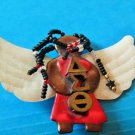 Delta Sigma Theta Sorority ANGELIC DESIGN LARGE PIN NEW