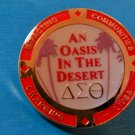 Delta Sigma Theta Sorority OASIS IN THE DESERT CHANGING LIVES PIN NEW