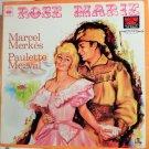 ROSE-MARIE (1970S RUDOLF FRIML / STOTHART) STUDIO CAST LP PAULETTE MERVAL