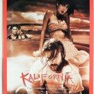 KALIFORNIA MOVIE BRAD PITT, JULIETTE LEWIS VTG 1993 AD,