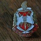 Delta Sigma Theta Sorority RICH GOLD & ENAMEL PIN NEW