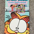 GARFIELD GOES HOLLYWOOD (VIDEO DEALER 10 X 5 1/2 MINI-POSTER,1990) CARTOON CAT