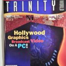 TRINITY WORLD MAGAZINE PREMIERE ISSUE 1996;HOLLYWOOD GRAPHICS BROADCAST ON PC