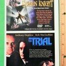 DEMON KNIGHT / BLACK RAIN / IRON MAN MOVIE GRAPHICS BEAUTIFUL ART (1997 VTG)