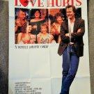 LOVE HURTS (VIDEO DEALER 40 X 27 POSTER!, 1990S) JEFF DANIELS, JUDITH IVEY,