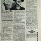 MONEYSWORTH (RALPH GINSBURG) 1971 VINTAGE PHOTO AD, RARE  SOUGHT EPHEMERA