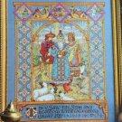 PDF FILE PAGEANT KINGS Nativity 3 Wisemen Cross Stitch  pattern Needlework