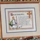 The Old Rugged Cross, CROSS STITCH PATTERN, Beautiful Design of Beloved Hymn C 5