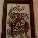 PDF FILE   Cross Stitch pattern BENGAL Tiger jungle background 164h x 105w DIY pattern