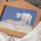 PDF FILE Nativity LAMB OF GOD cross stitch pattern