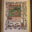 PDF FILE Medieval ILLUMINATED MANUSCRIPT II SAMPLER CROSS STITCH PATTERN