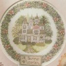 PDF FILE  SUMMER VICTORIAN FLORAL HOUSE Cross Stitch & Needlework pattern