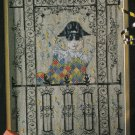 PDF FILE Harlrquin dreamer cross stitch Pattern