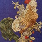 PDF FILE VINTAGE MAGESTIC ROOSTER CROSS STITCH PATTERN ONLY