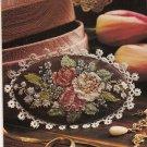 PDF PATTERN  Victorian Rose Brooch Cross Stitch Pattern