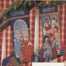 PDF FILE CROSS STITCH PATTERN Christmas in Williamsburg Stocking  D 9(A)A