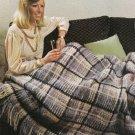 PDF FILE VINTAGE Comfort BLANKET AfghanCrochet Pattern instructions