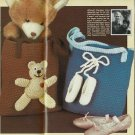 VINTAGE TOTE BAGS CROCHET PATTERN INSTRUCTIONS