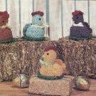 PDF FILE Chich Egg Cover VINTAGE Crochet PATTERN