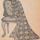 PDF FILE VINTAGE CELTIC STAINED GLASS CROSS AFGHAN CROCHET PATTERN INSTRUCTIONS..