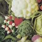 PDF FILE vegetables to crochet and knit  CROCHET PATTERN