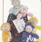 PDF FILE VICTORIAN BABY JELLY BEANS IN A BAG  CROCHET ORNAMENTS PATTERN