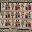 PDF FILE HOUSES AND TREES QUILTS PATCHWORK PATTERN