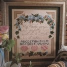 PDF FILE My Heart Sings Sampler Counted Cross Stitch Pattern Flowers