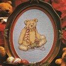 PDF FILE  Christmas Bear Chart Cross Stitch PATTERN ONLY