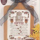 PDF FILE COFFEE/TEA SAMPLER SERIES CROSS STITCH PATTERN