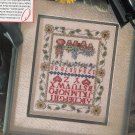 This is a PDF FILE  only Signs of summer Cross stitch pattern