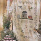PDF FILE ONLY  SHAKER LIFE AFGHAN CROSS STITCH PATTERN