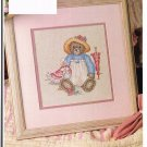 BEARY BEST FRIENDS & KINDRED SPIRITS VINTAGE CROSS STITCH PATTERN ONLY -