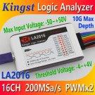 Kingst LA1010 USB Logic Analyzer 100M max sample rate,16Channels,10B samples