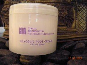 Bion Glycolic Foot and Body Cream - 20% Glycolic