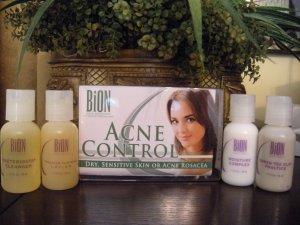 Bion Acne Control Kit - Dry, Sensitive or Acne Rosacea