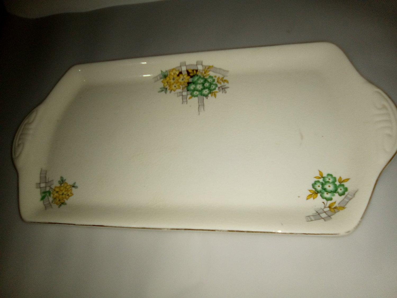 Crown Clarence Sandwich Platter c.1945-1955