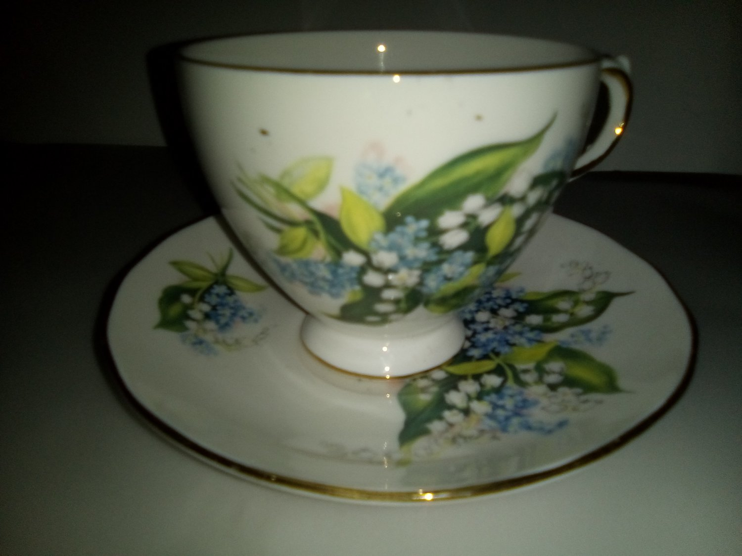 Lily of the Valley Cup and Saucer c.1960s