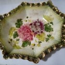 Ceramic Platter Genuine Antique James Kent Chrysanthemum with small repair to rim