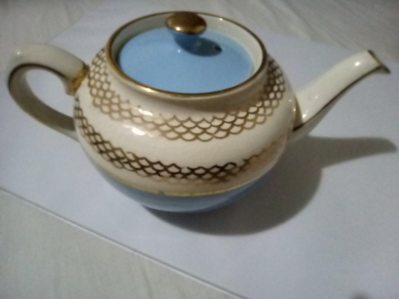 Ceramic Teapot Authentic James Sandler c.1937-1947