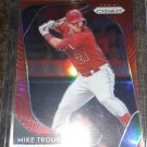 2020 Panini Prism Red Prizm Mike Trout