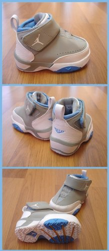 Nike Boy's kids Jordan M3 Size 3 toddler shoes sneakers