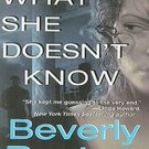 What She Doesn't Know by Beverly Barton