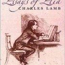 Essays of Elia by Charles Lamb
