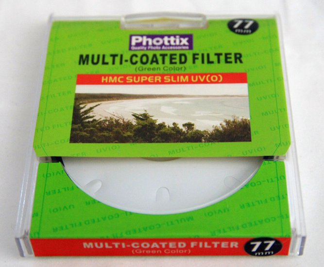 Phottix 77mm Multicoated Slim Pro HMC UV Filter