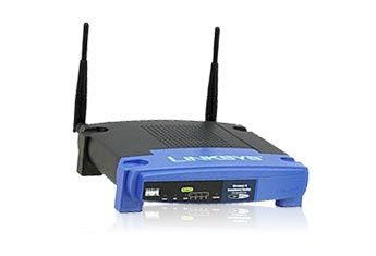 Linksys Wireless-G Broadband Router with SpeedBooster WRT54GS v7 / v8